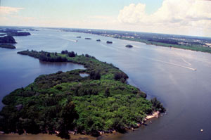 Indian River Lagoon in Florida