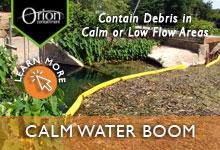 Calm Water Debris Boom