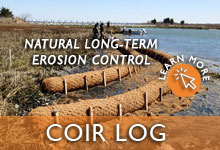 Coconut Coir Logs