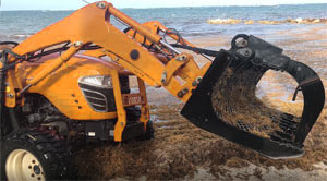 Sargassum Removal Machinery