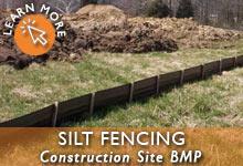 Construction Site Silt Fencing