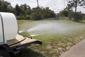 Argo Water Trailer Spray Bar