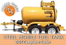 Portable Water Tank Trailer | USA Made & DOT Compliant