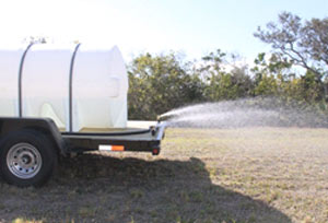 Water Trailer Spray Bar